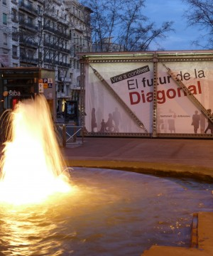 Diagonal's query, Barcelona