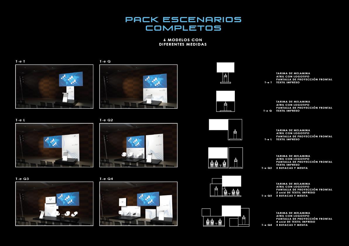 Pack complete scenarios